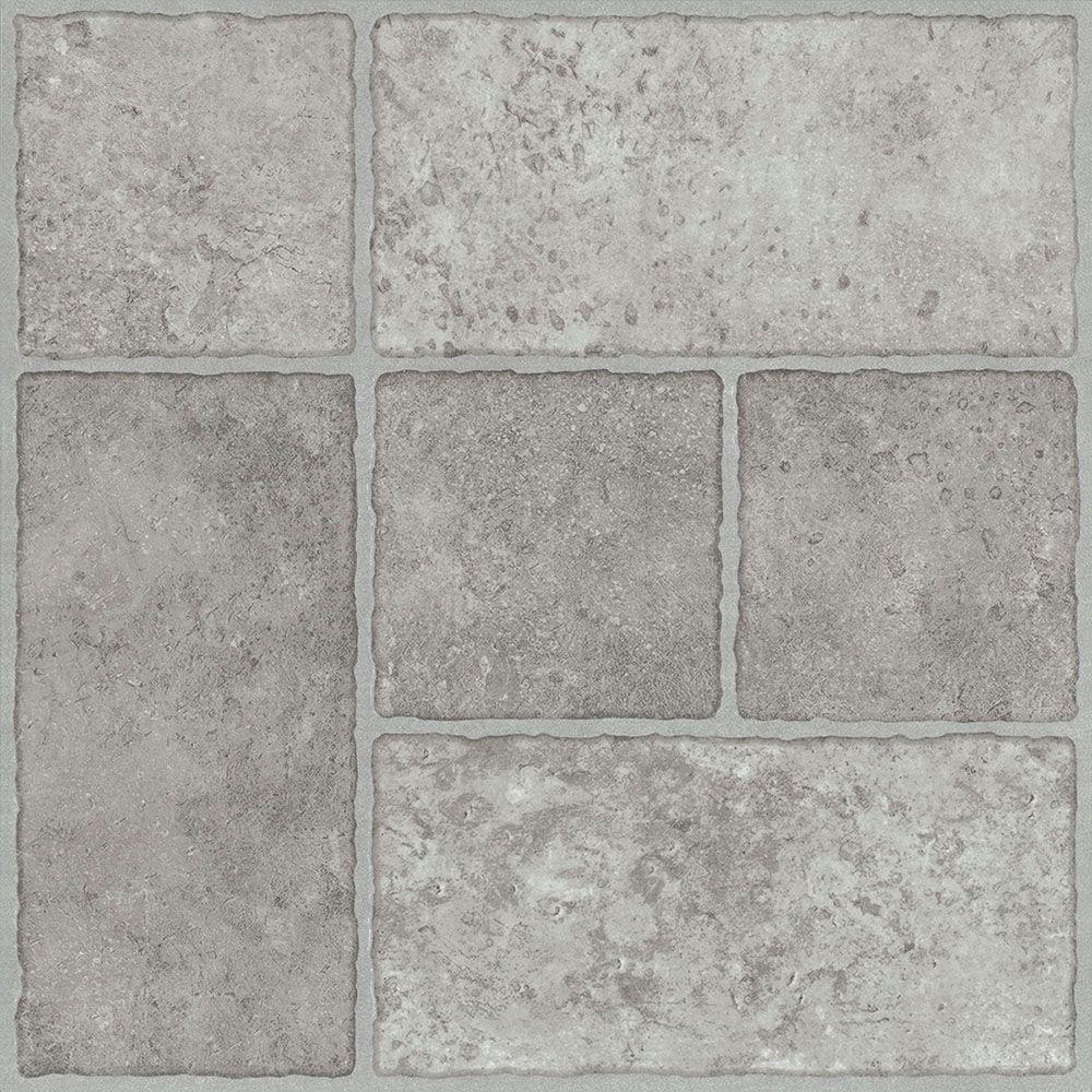 vinyl flooring squares home depot
