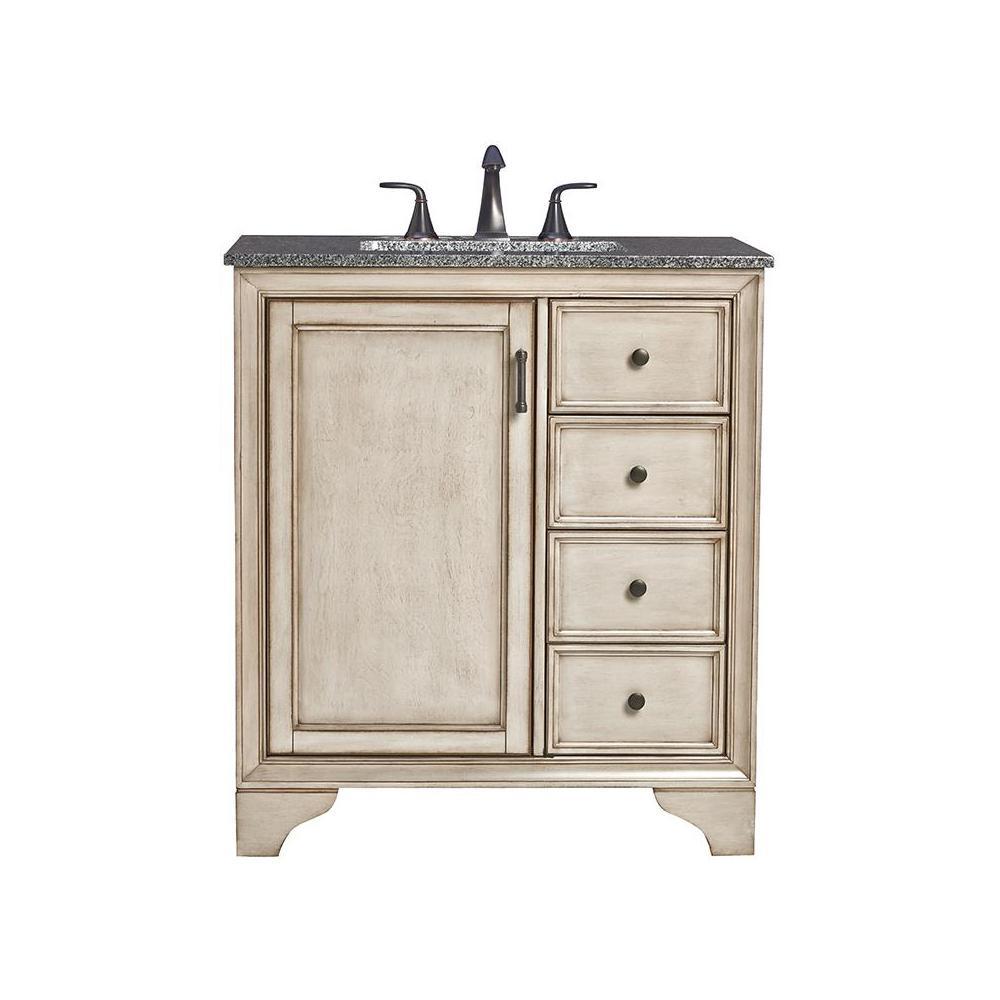 Home Decorators Collection Hazelton In W X D Bath Vanity