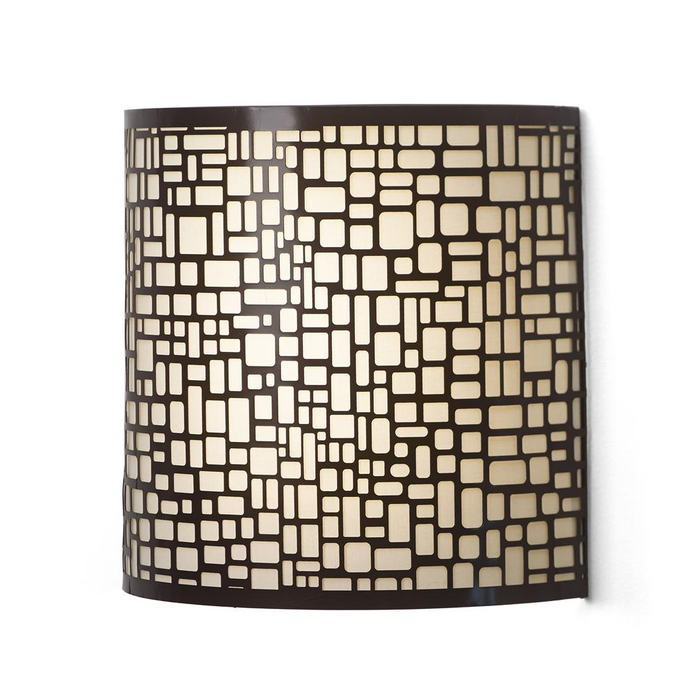 It's Exciting Lighting London Barrel Sconce Indoor Battery ... on Battery Powered Wall Sconces id=92936