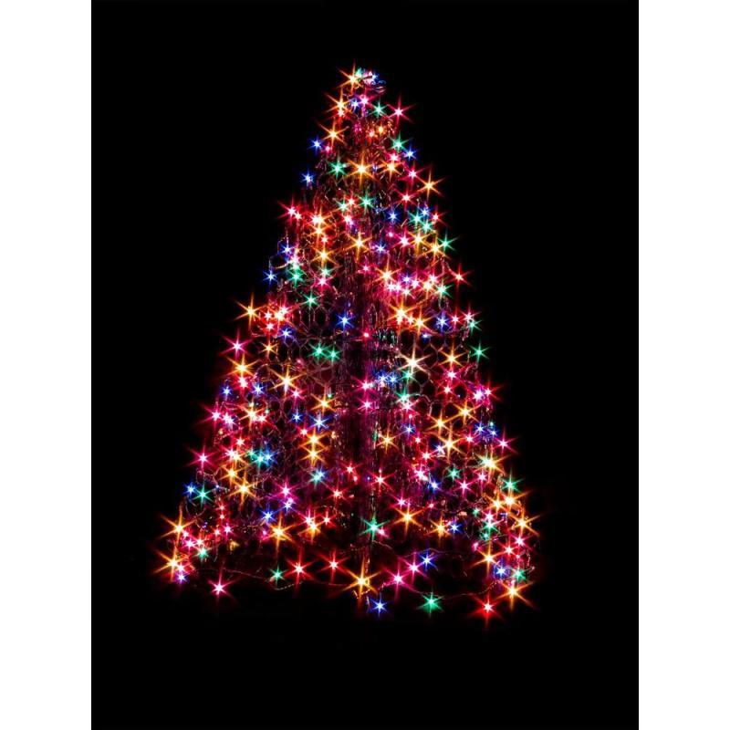 Crab Pot Trees 4 Ft Indoor Outdoor Pre Lit Incandescent Artificial Christmas Tree