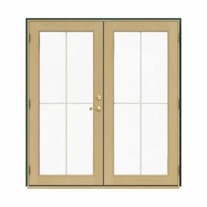 JELD WEN 72 In X 80 In W 2500 Green Clad Wood Right Hand