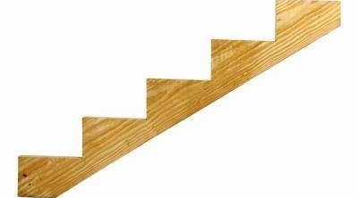 Wood Outdoor Stair Stringers Deck Stairs The Home Depot | Wood For Outdoor Stairs | Railing | Risers | Staircase | Deck Railing | Treated Pine