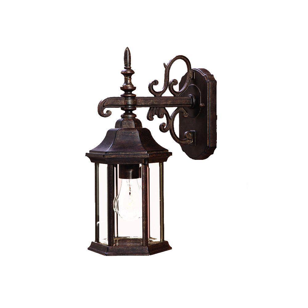 Acclaim Lighting Madison Collection 1-Light Black Coral ... on Outdoor Lighting Fixtures Wall Mounted id=13474