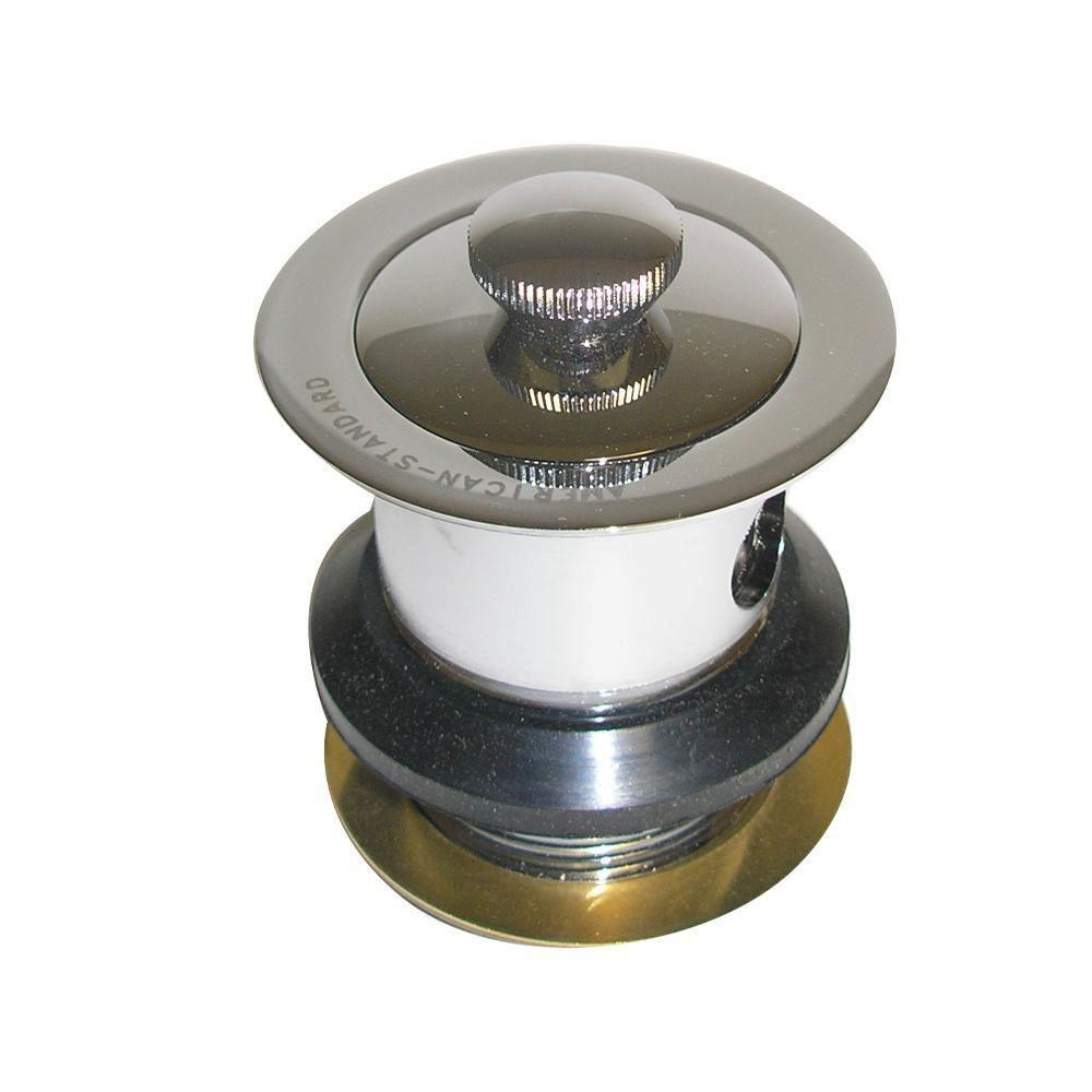American Standard Lift And Turn Drain Assembly In Polished