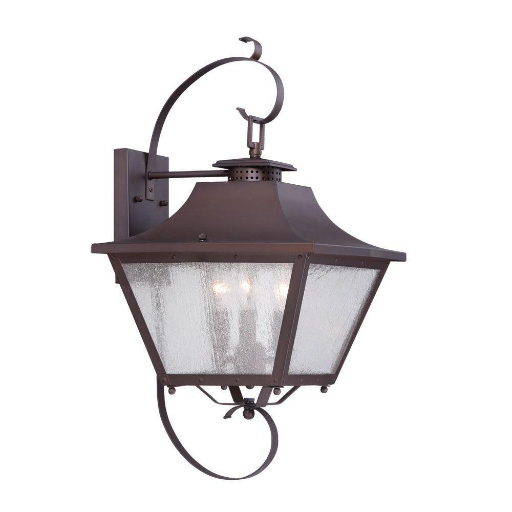 Acclaim Lighting Lafayette Collection 3-Light ... on Outdoor Lighting Fixtures Wall Mounted id=23613