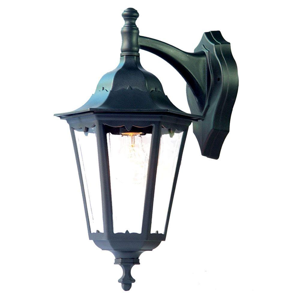 Acclaim Lighting Tidewater Collection 1-Light Matte Black ... on Outdoor Lighting Fixtures Wall Mounted id=97802