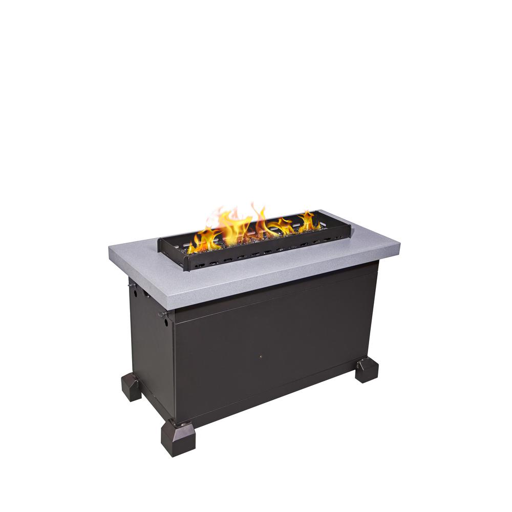 Camp Chef Monterey Propane Gas Fire Pit in Gray with ... on Propane Fire Pit Ace Hardware id=94070