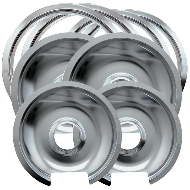 Range Kleen Drip Pan Trim Ring Porcelain Black
