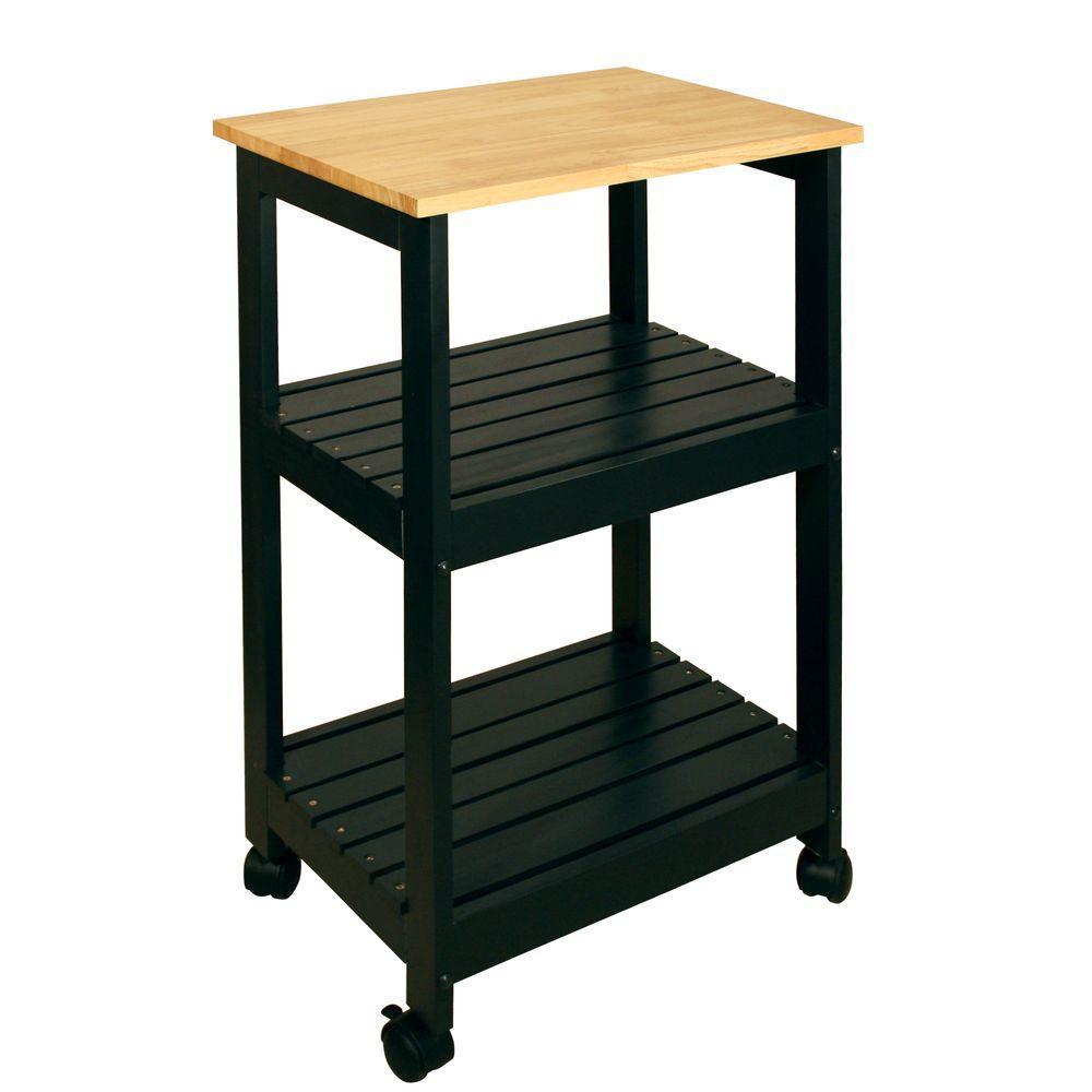 black finish mainstays kitchen cart bar