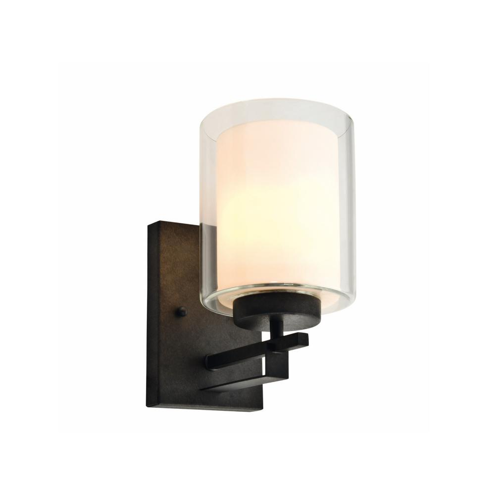 Design House Impala 1-Light Rustic Bronze Wall Sconce ... on Rustic Wall Sconces id=99786