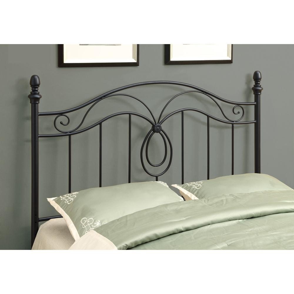 Monarch Specialties Monarch Black Full Queen Headboard Footboard I     Monarch Specialties Monarch Black Full Queen Headboard Footboard