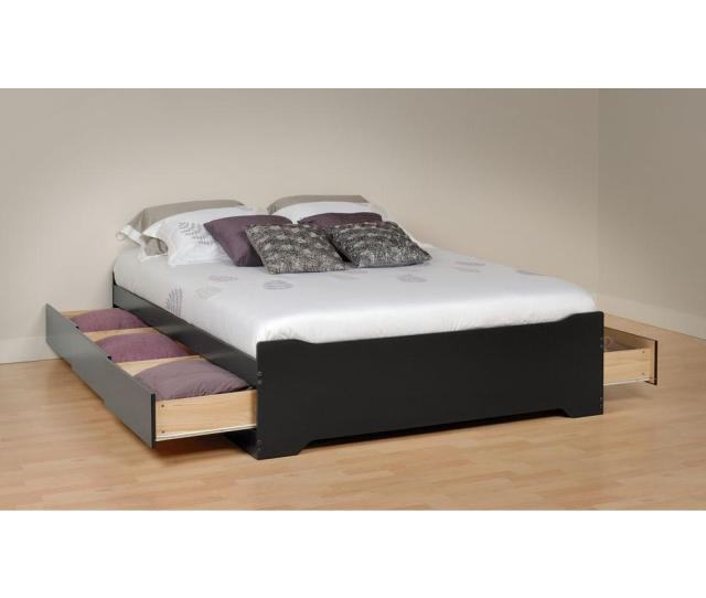 Prepac Sonoma Queen Wood Storage Bed