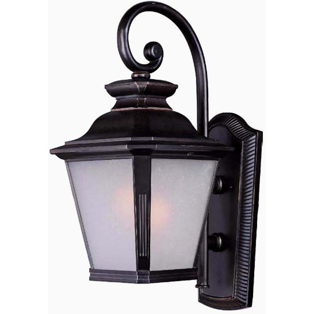 Maxim Lighting Knoxville 11 in. W 1-Light Bronze Outdoor ... on Sconce Outdoor Lighting id=24609