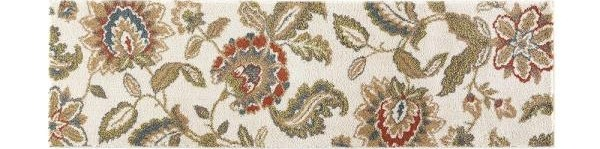 Home Decorators Collection Lucy Cream 2 Ft X 7 Ft Runner Rug | Home Depot Rug Runners By The Foot | Area Rugs | Regent Tan | Plastic | Carpet Protector | Mat