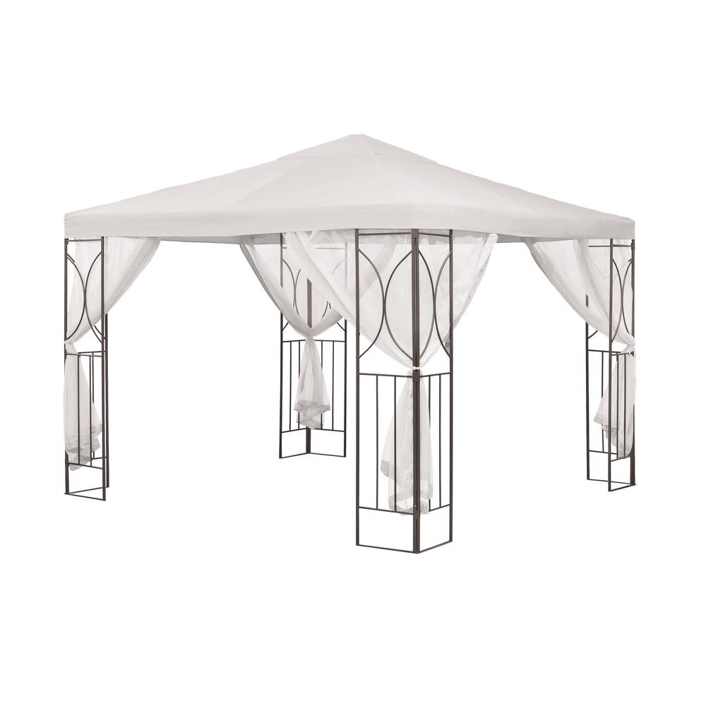 SunTime Outdoor Living Polenza 8.16 ft. White Cream PA ... on Suntime Outdoor Living  id=77863