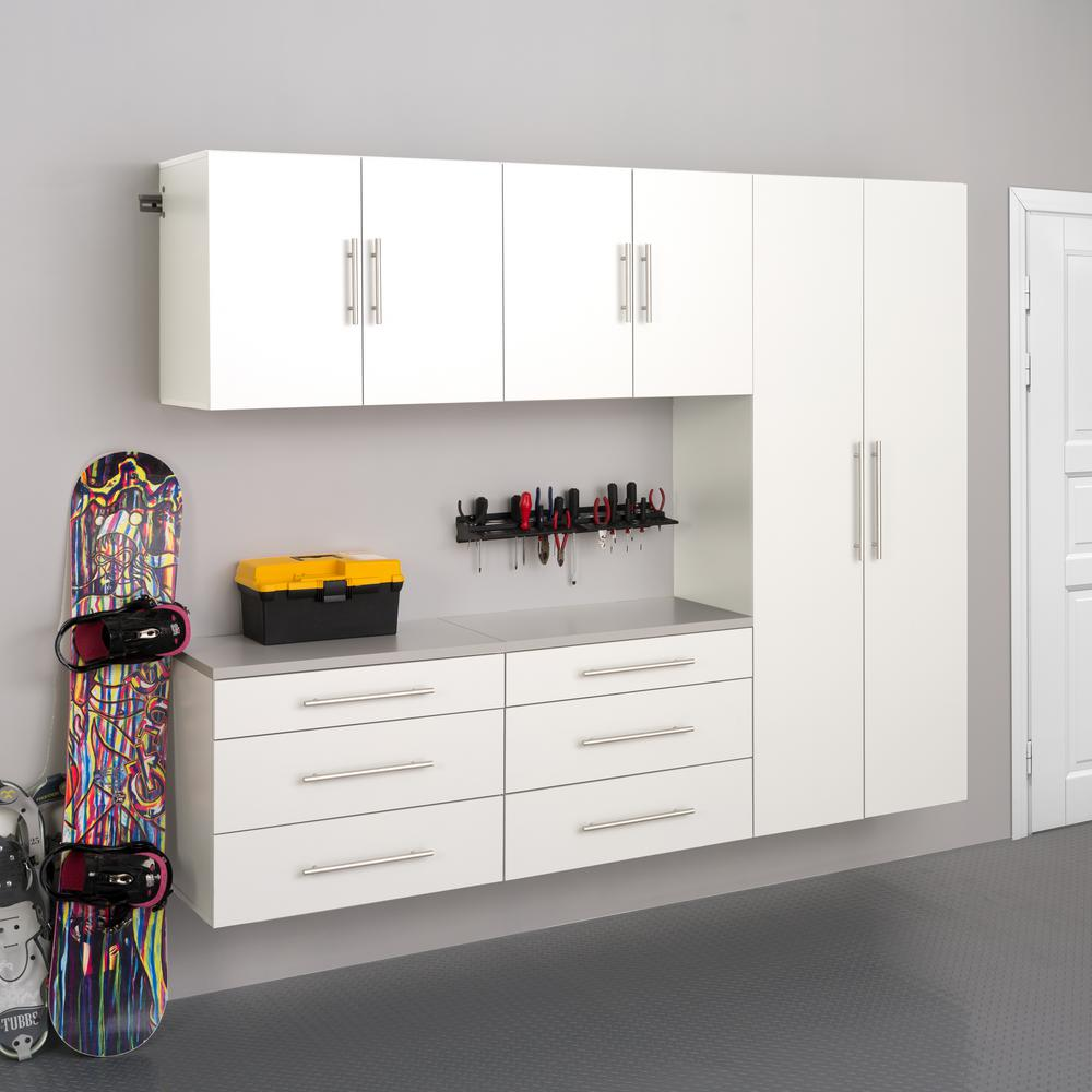 Prepac Hangups 72 In H X 90 In W X 16 In D White Wall Mounted Storage Cabinet Set H Wrgw 0708 5m The Home Depot