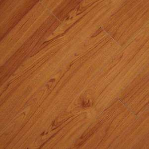 Underlayment attached   Laminate Wood Flooring   Laminate Flooring     High Gloss Alexander Oak 8 mm Thick x 5 in  Wide x 47 3