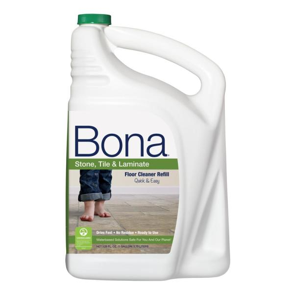 Bona 128 oz  Stone  Tile and Laminate Cleaner WM700018172   The Home     Bona 128 oz  Stone  Tile and Laminate Cleaner