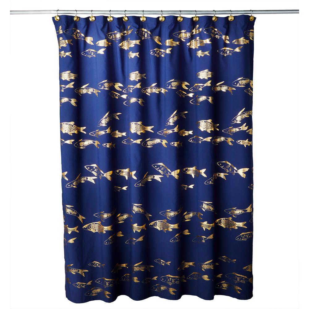 interdesign ombre print shower curtain