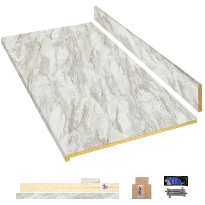 Laminate Countertop Kit In Drama Marble