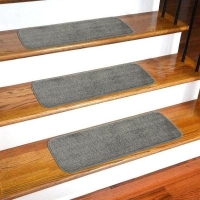 Stair Tread Covers Rugs The Home Depot   Carpet Treads For Steps   Oak   Double Thickness Tread   Textured   Anti Slip   Creative
