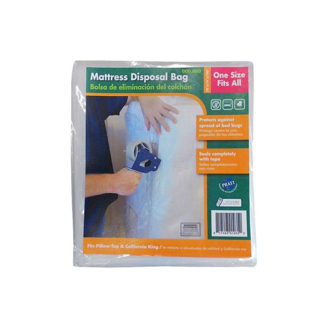 Pratt Retail Specialties Mattress Disposal Bag 7007008 The Home Depot