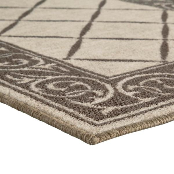 Trafficmaster Horchow Tan 2 Ft 2 In X Your Choice Length Roll | Home Depot Rug Runners By The Foot | Area Rugs | Regent Tan | Plastic | Carpet Protector | Mat