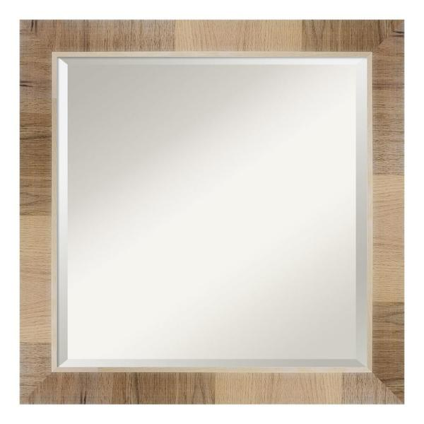 Amanti Art Natural White Wash Decorative Wall Mirror Dsw4092972 The Home Depot
