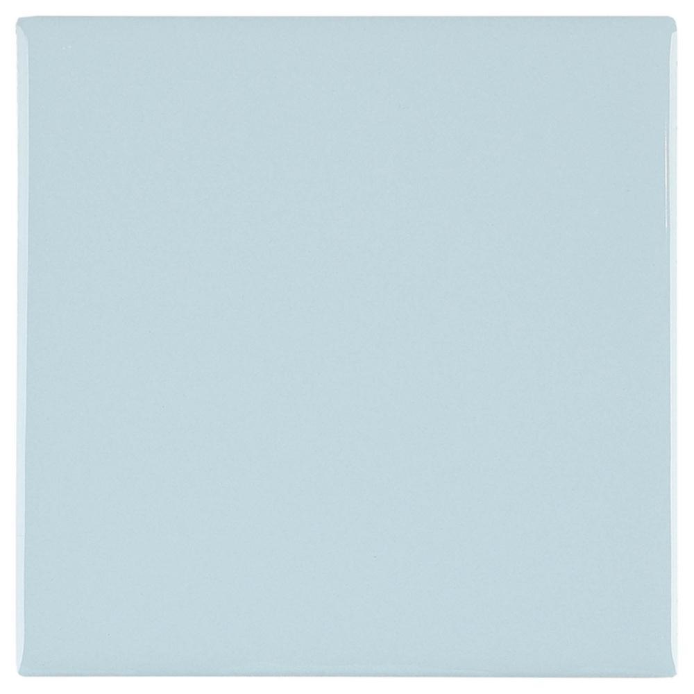 9 pcs ceramic tile navy blue 4 1 4