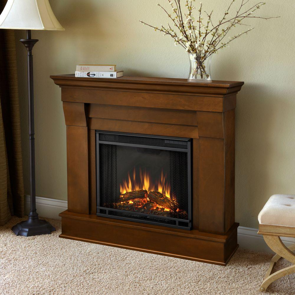 Real Flame Chateau 41 In Electric Fireplace In Espresso