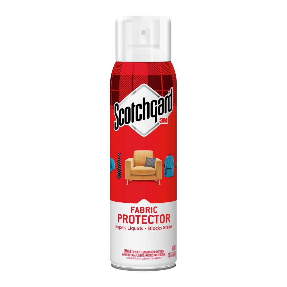 Scotchgard 14 Oz Fabric And Upholstery Protector 4106 14 The Home Depot