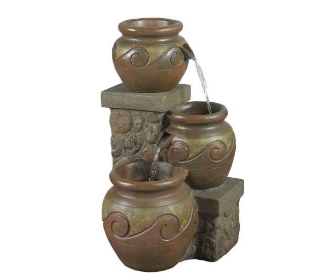 Fountain Cellar Venice Multi Pot Outdoor Indoor Fountain