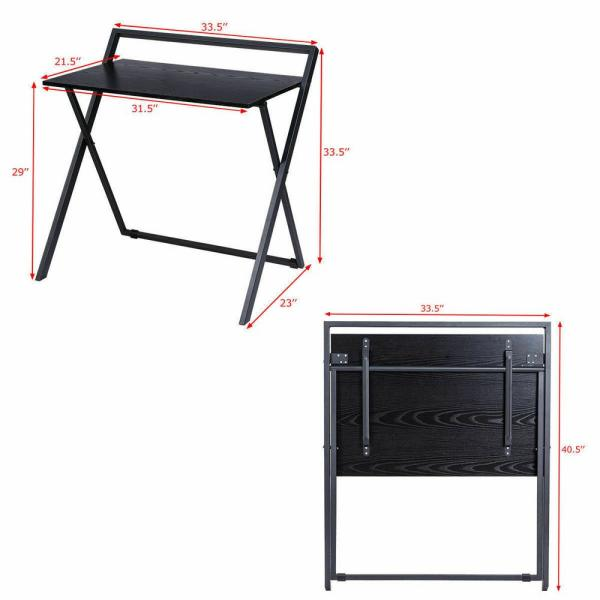Folding Study Desk For Small Space Home Office Desk Simple Laptop Writing Table Lib Fib Ugm Ac Id
