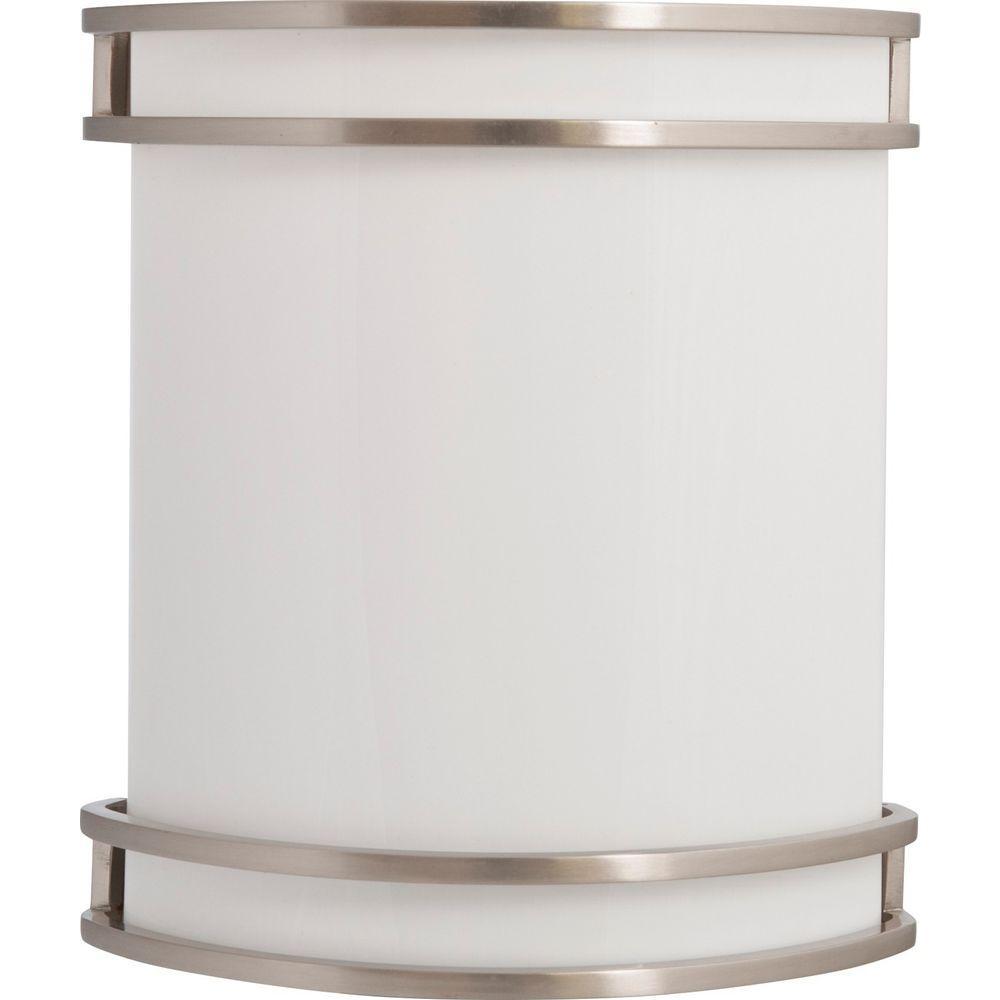 Amax Lighting WS Brushed Nickel Indoor LED Wall Sconce-LED ... on Led Sconce Lighting id=96787