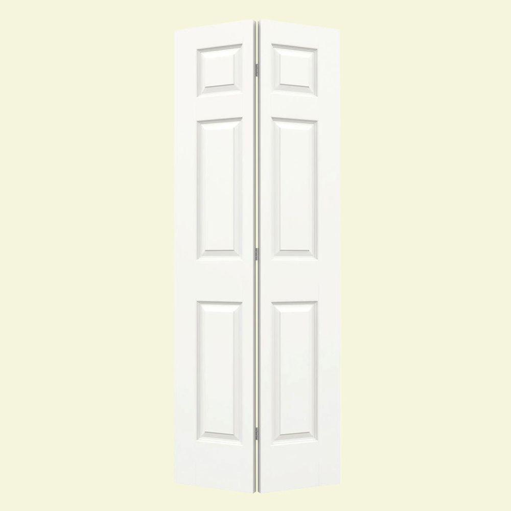 jeld wen 24 in x 80 in colonist white painted smooth on Jeld Wen Colonist 24 In X 80 In Primed 6 Panel Solid id=18725