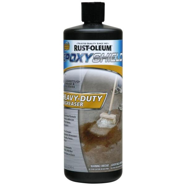 Rust Oleum EpoxyShield 1 qt  Cleaner Heavy Duty Degreaser  Case of 6     Cleaner Heavy Duty Degreaser  Case of 6