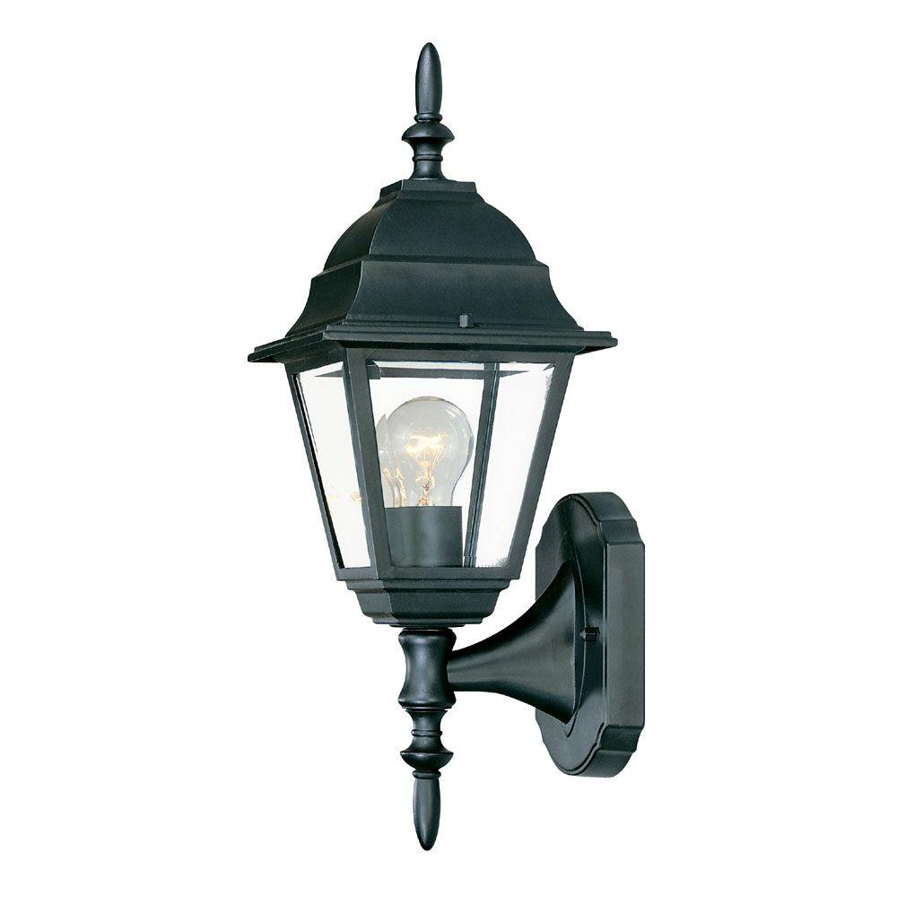 Acclaim Lighting Builder's Choice Collection 1-Light Matte ... on Outdoor Lighting Fixtures Wall Mounted id=39238