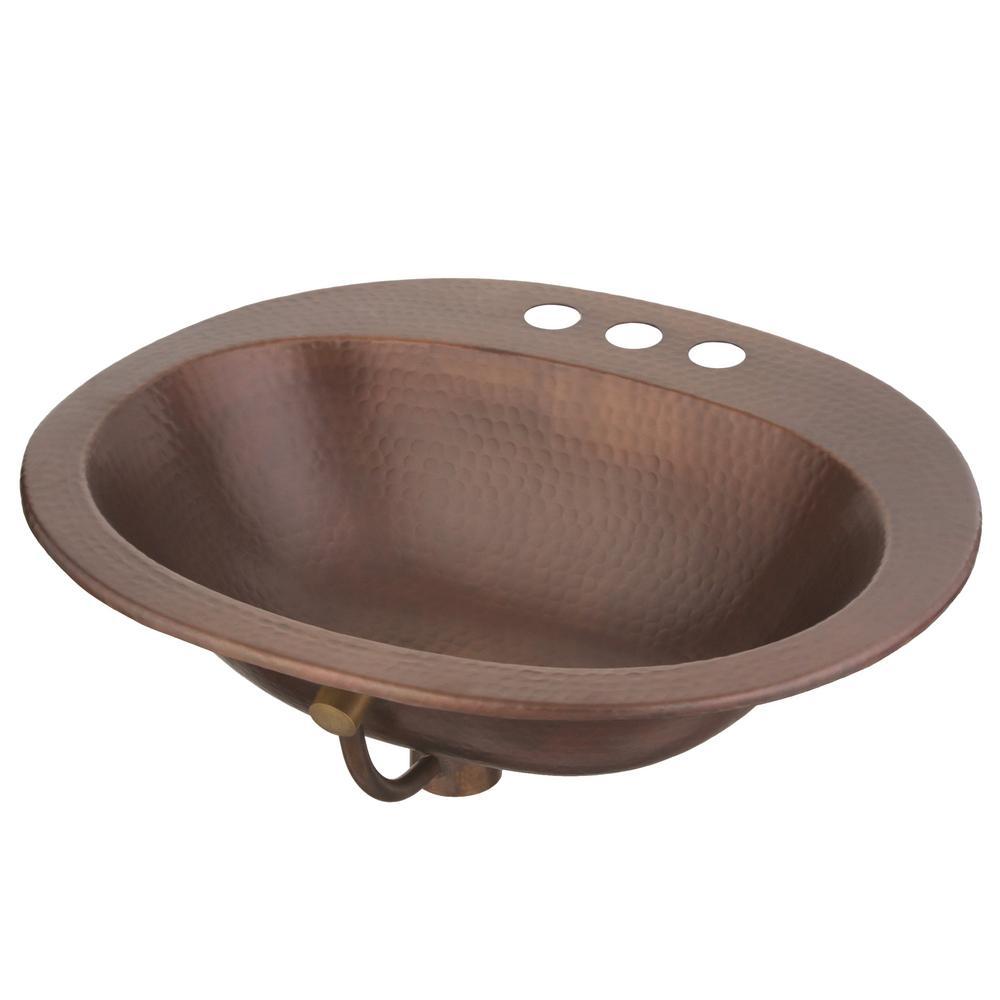 sinkology bathroom sink 20 in oval drop