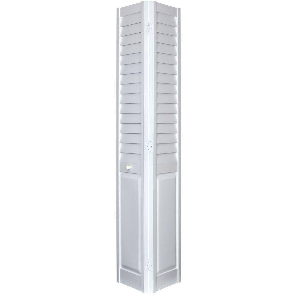 home fashion technologies 18 in x 80 in 3 in louver on Home Fashion Technologies 30 In X 80 In 6 Panel White id=60759