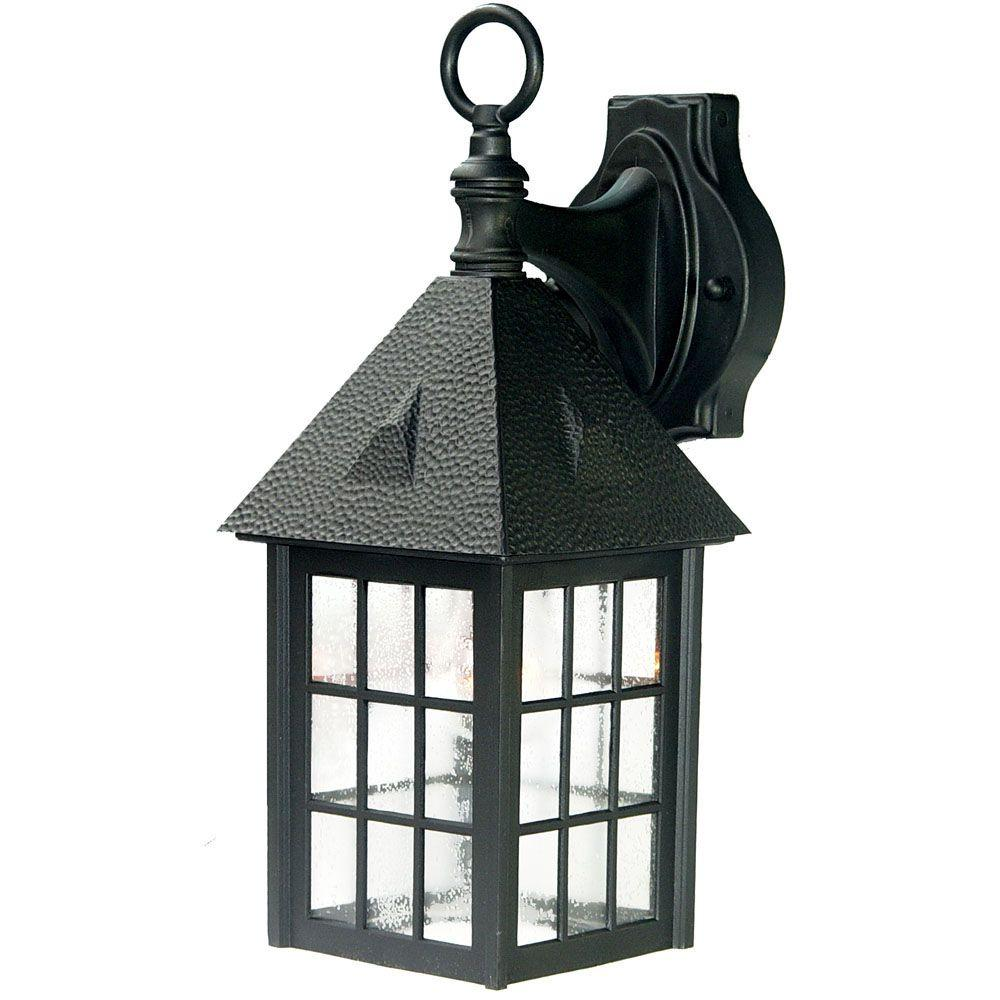 Acclaim Lighting Outer Banks Collection 1-Light Matte ... on Outdoor Lighting Fixtures Wall Mounted id=54274