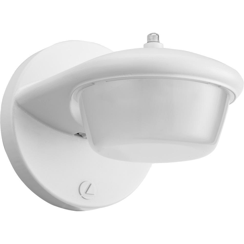 Lithonia Lighting 1-Light White Outdoor Integrated LED ... on Sconce Outdoor Lighting id=35442