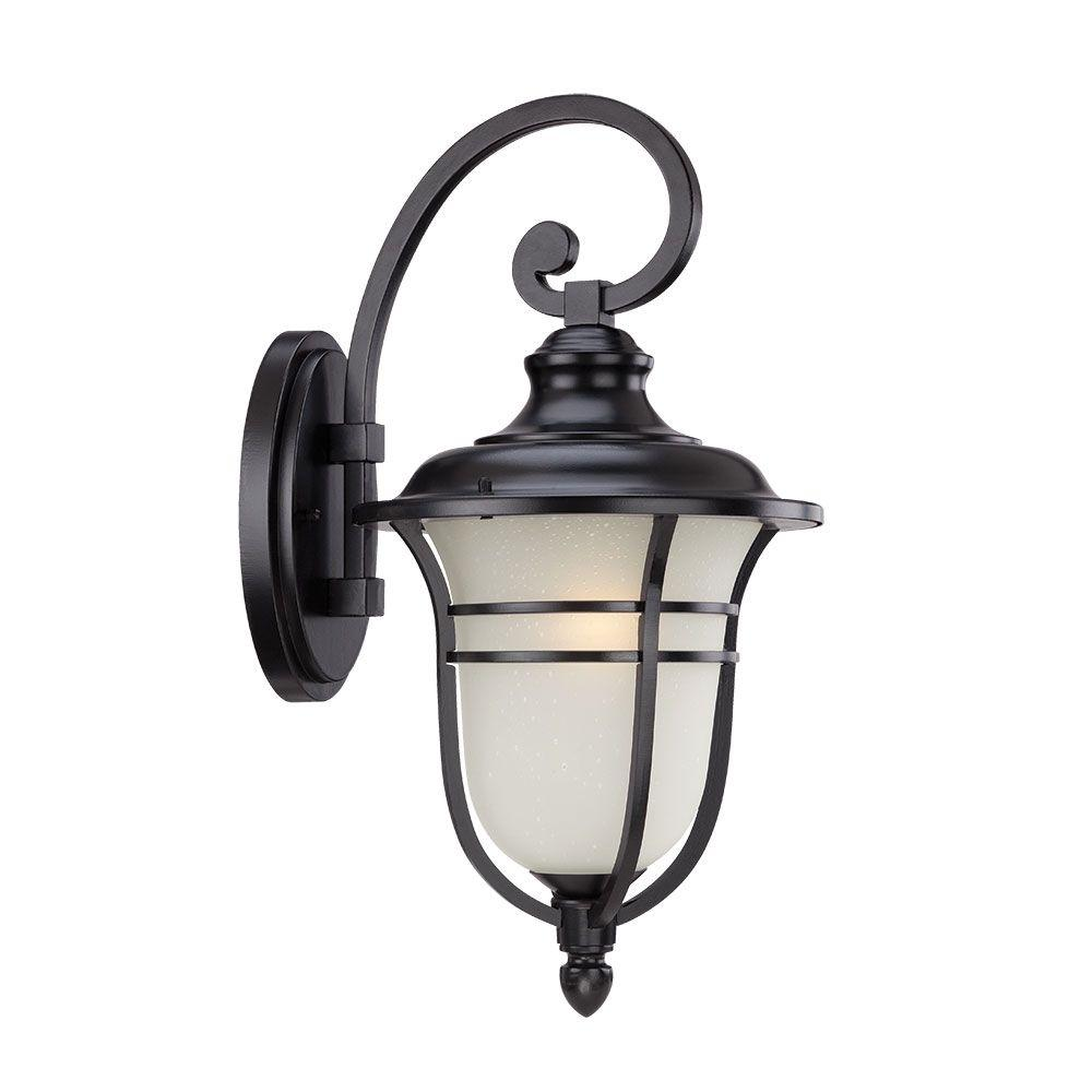 Acclaim Lighting Montclair Collection 1-Light Matte Black ... on Outdoor Lighting Fixtures Wall Mounted id=35709