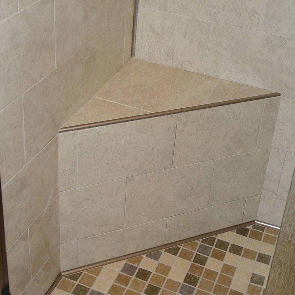 bullnose tile trim aluminum r round