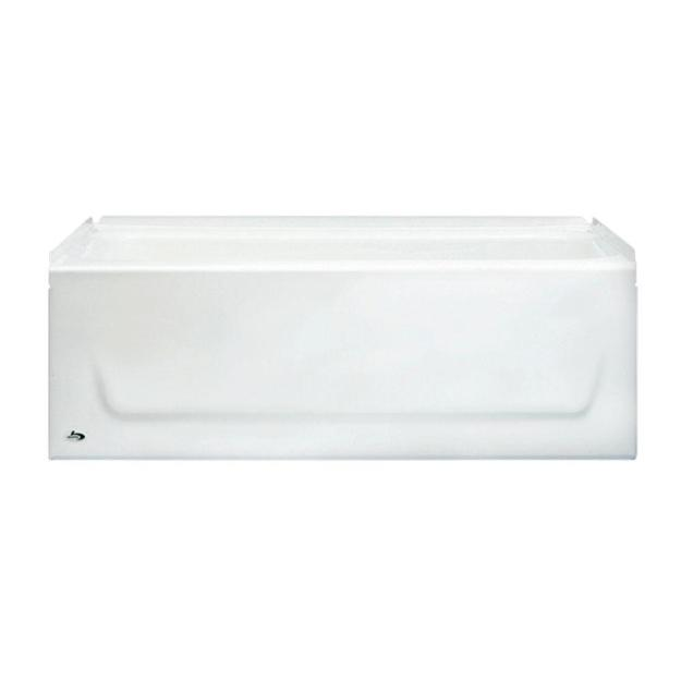 bootz industries kona 54 in. right drain rectangular alcove soaking