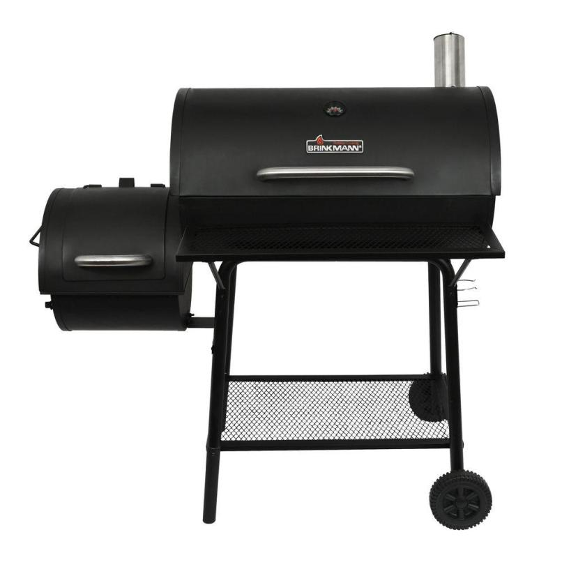 Brinkmann Charcoal Grill And Off Set