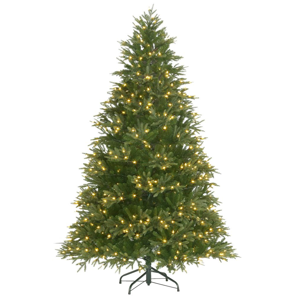 75 Ft Pre Lit Majestic Fir With Color Changing Lights