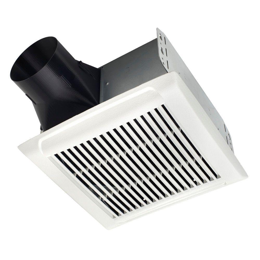 nutone invent series 80 cfm ceiling bathroom exhaust fan-arn80