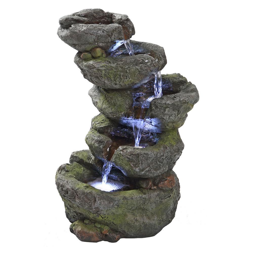 Design Toscano Breakneck Falls Stone Bonded Resin ... on Home Garden Fountain Design id=99720