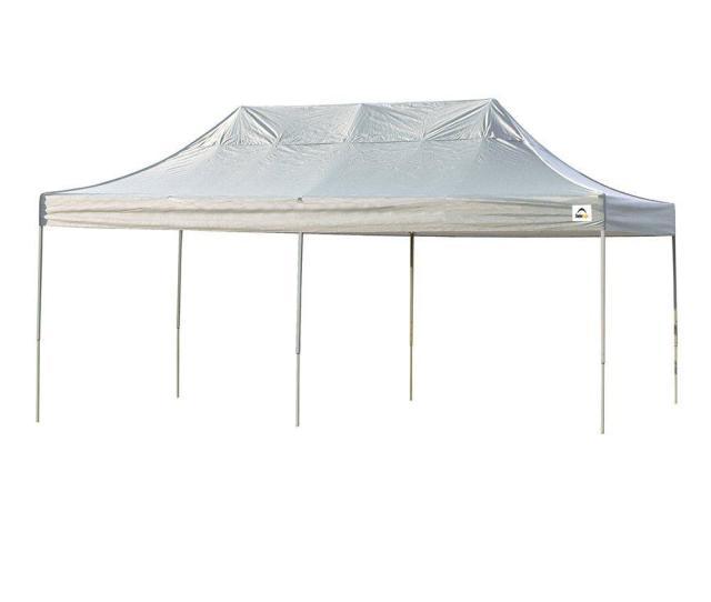 Shelterlogic  Ft X  Ft Straight Leg Pop Up Canopy White Cover