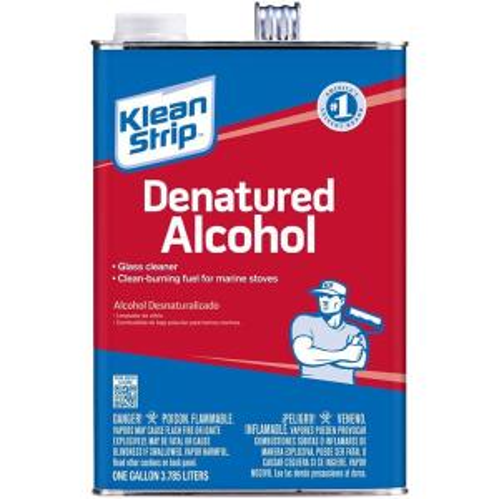 Klean Strip 1 Gal SLX Denatured Alcohol Cleaner GSL26